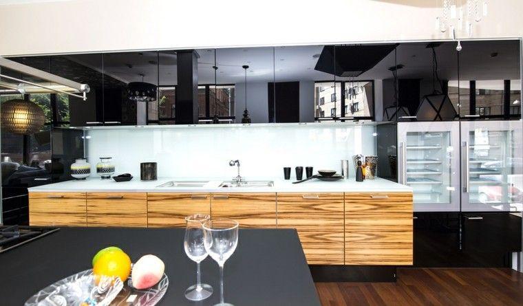Cocinas modernas con isla: 100 ideas impresionantes | Cocina moderna ...