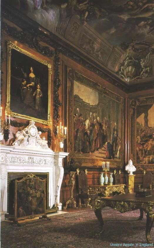 Fireplace at Windsor Castle | Windsor castle interior ...