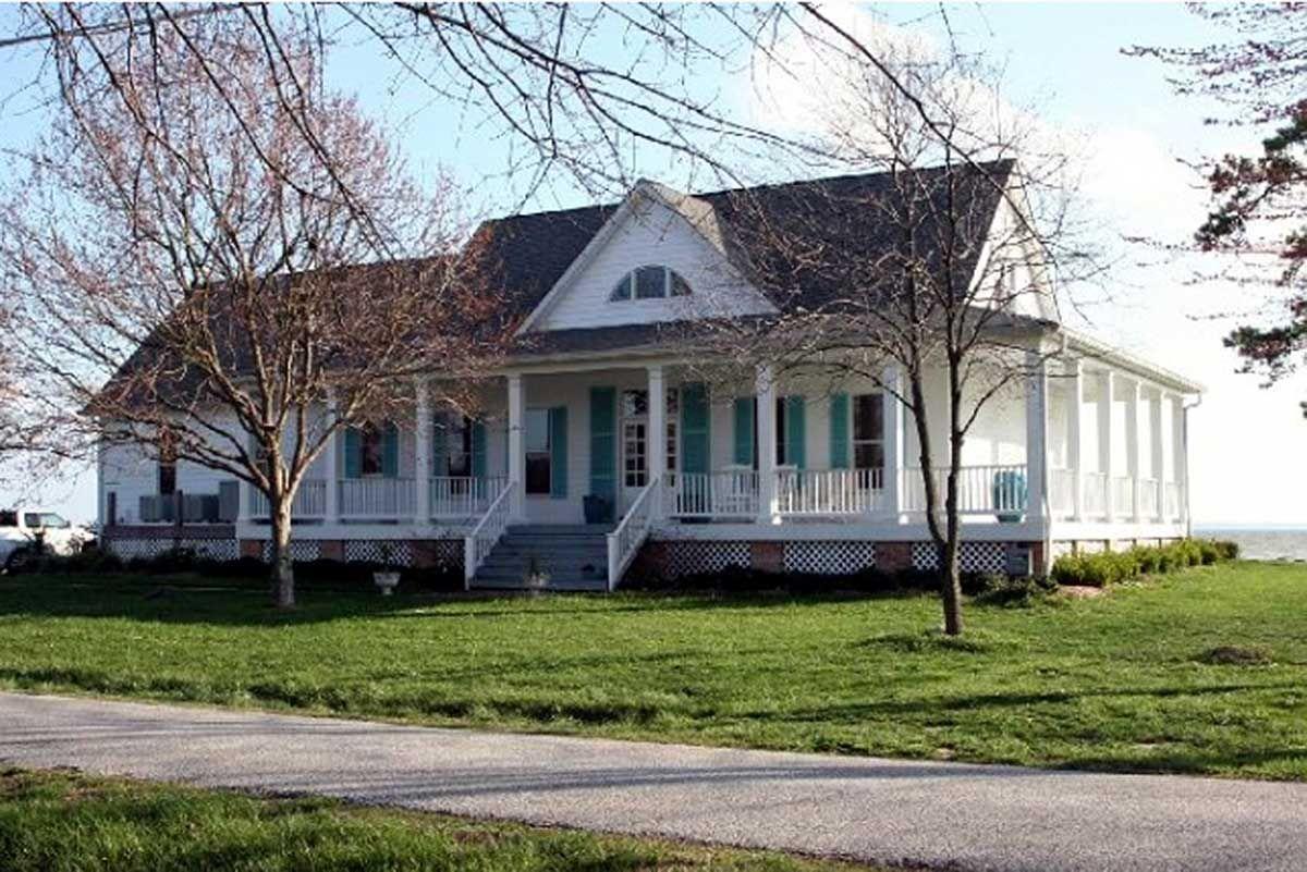 Southern Style Wrap Around Porch