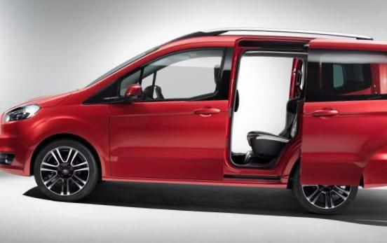 Ford Tourneo Courier Photos And Specs Photo Ford Tourneo Courier