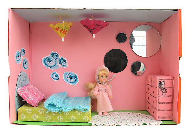 Shoe Box Dollhouse Craft For Kids Shoe Box Crafts Diy For Kids Shoe Box