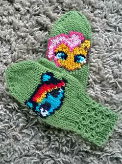 My Little Pony mittens, Lumille lapaset