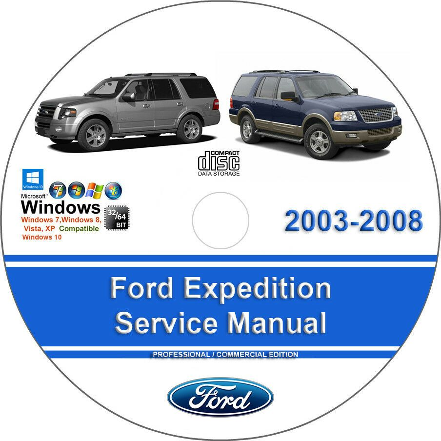 advertisement ebay ford expedition 2003 2004 2005 2006 2007 2008 factory service repair manual [ 904 x 904 Pixel ]