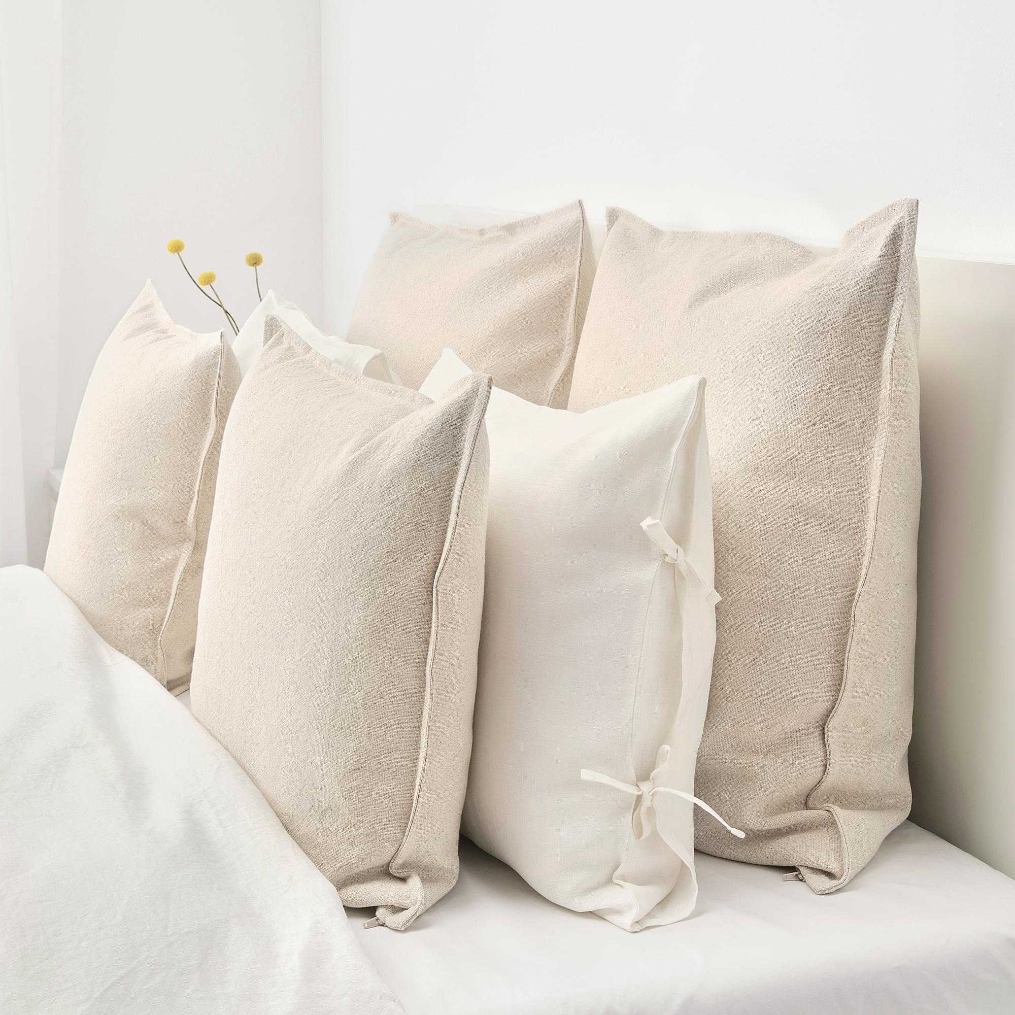 Jofrid Kissenbezug Natur Ikea Produkte Grosse Kissen Und