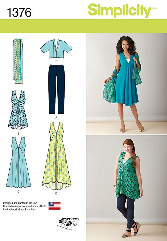 misses\' and plus size pattern includes everything you need for ...