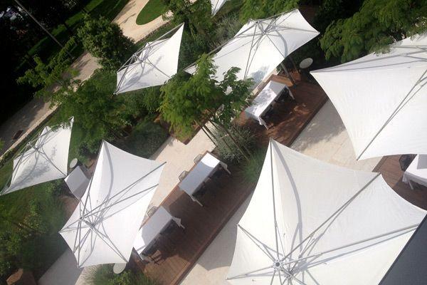 Restaurants in Rovinj: Cute terrace
