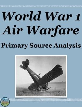 tanks and airplanes in world war 1