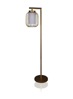 60 off state street lighting floor lamp with wire body shade 60 off state street lighting floor lamp with wire body shade dull gold keyboard keysfo Choice Image