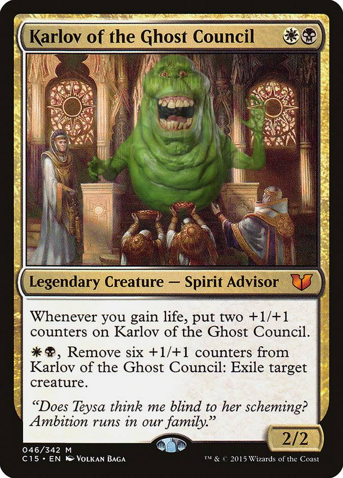 Karlov of the Ghost Council Proxy   Magic The Gathering Proxy in