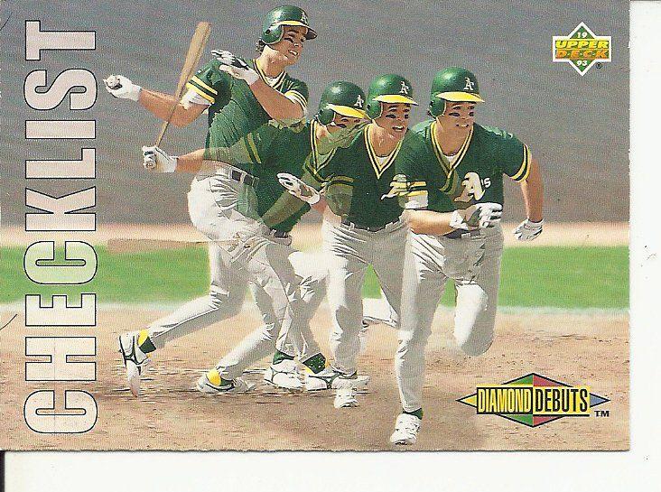 1993 topps baseball cards checklist