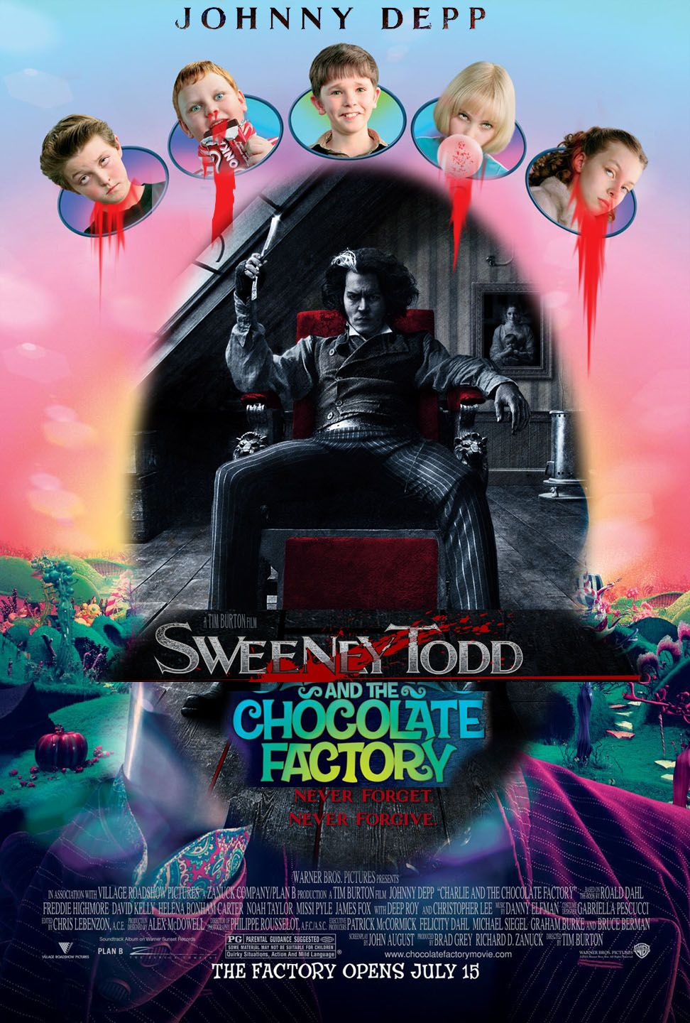 Sweeney Todd: Demon Barber of Fleet Street/ Charlie and the Chocolate Factory