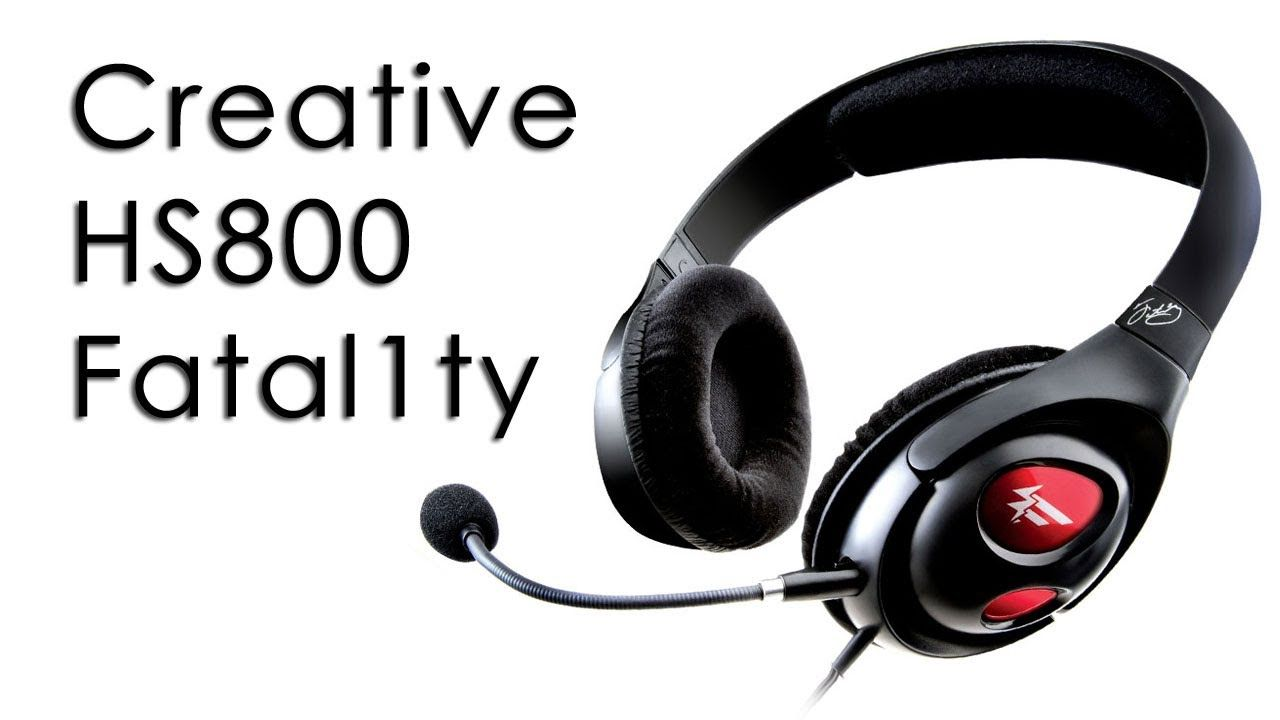 DRIVER UPDATE: CREATIVE LABS FATALITY HEADSET