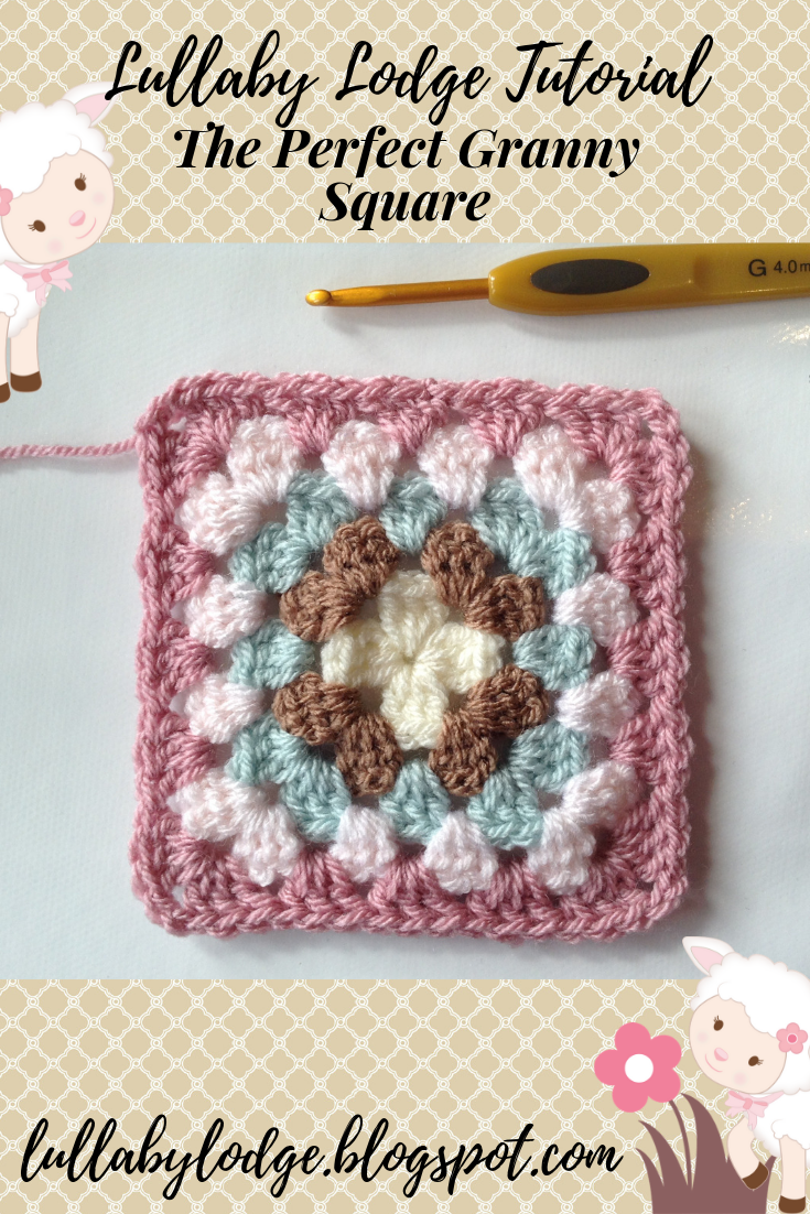 How To Make The Perfect Granny Square Without Twisty Corners Crochet Tutorial Granny Square Crochet Patterns Free Granny Square Crochet Pattern Crochet Square Patterns