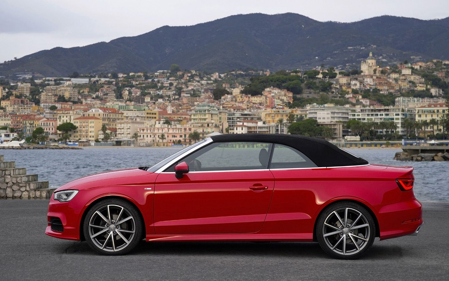 2014 Audi A3 Cabriolet Red Static 5 1440x900 Wallpaper A3 Cabriolet Audi A3 Cabriolet Audi A3