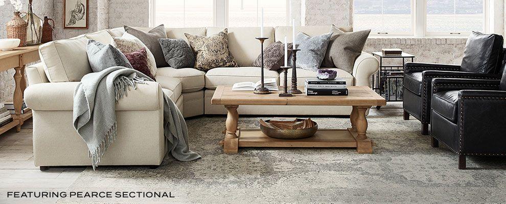 Pearce Sectional Sectional Sofa Upholstered Sofa