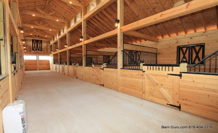 Barn Plans 10 Stall Horse Barn Design Floor Plan Barn