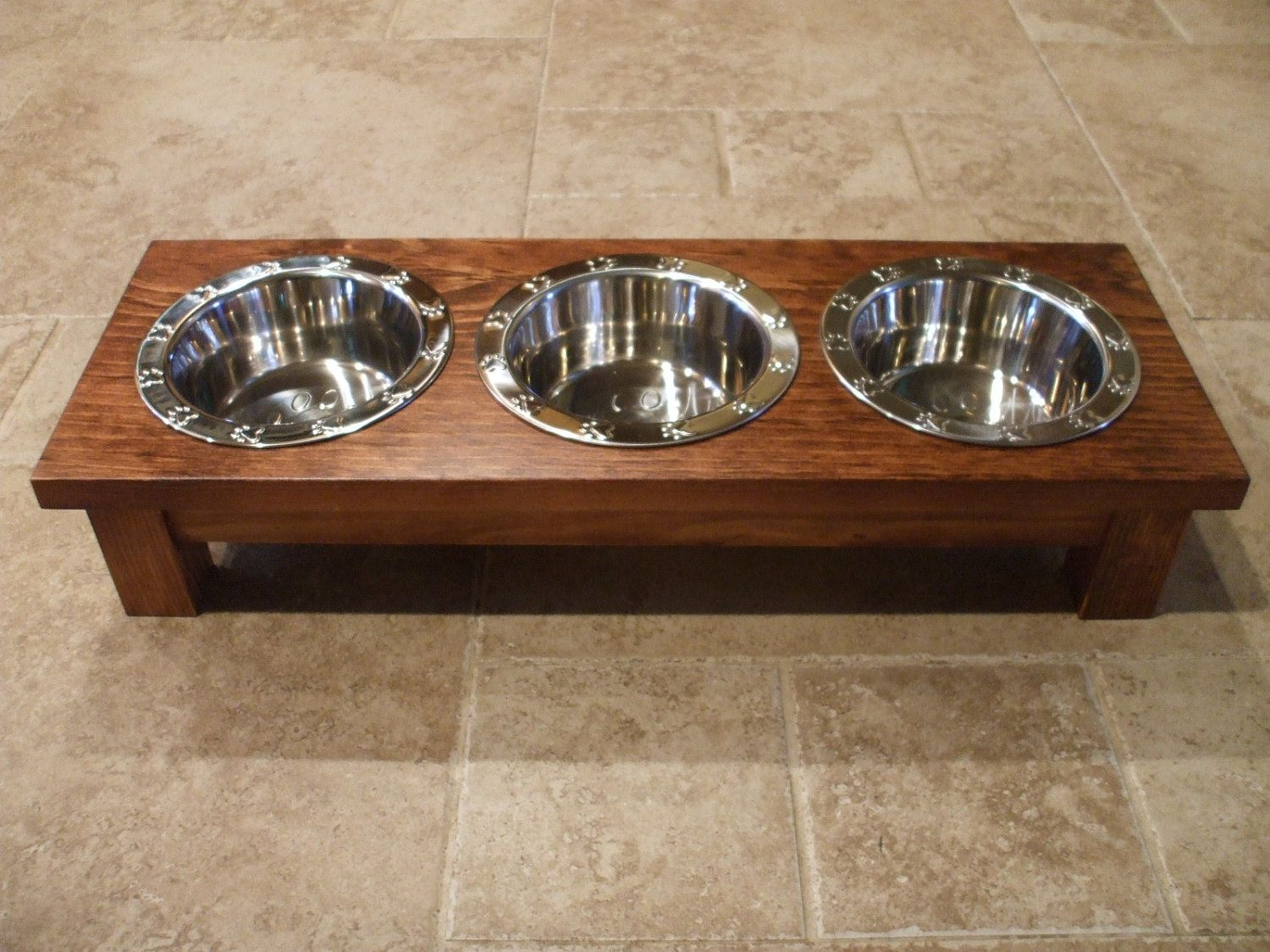 elevated wooden and freestanding promotes the bowls pet is feeder fabian stand wenge bowl woodworks mm dog water cat raised food tall