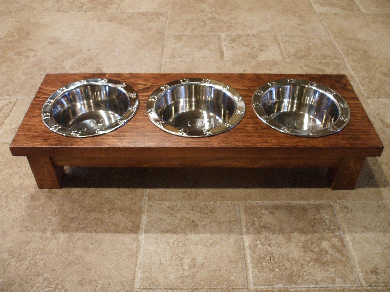 raised elevated pin bowls gyvunu cat dog feeder