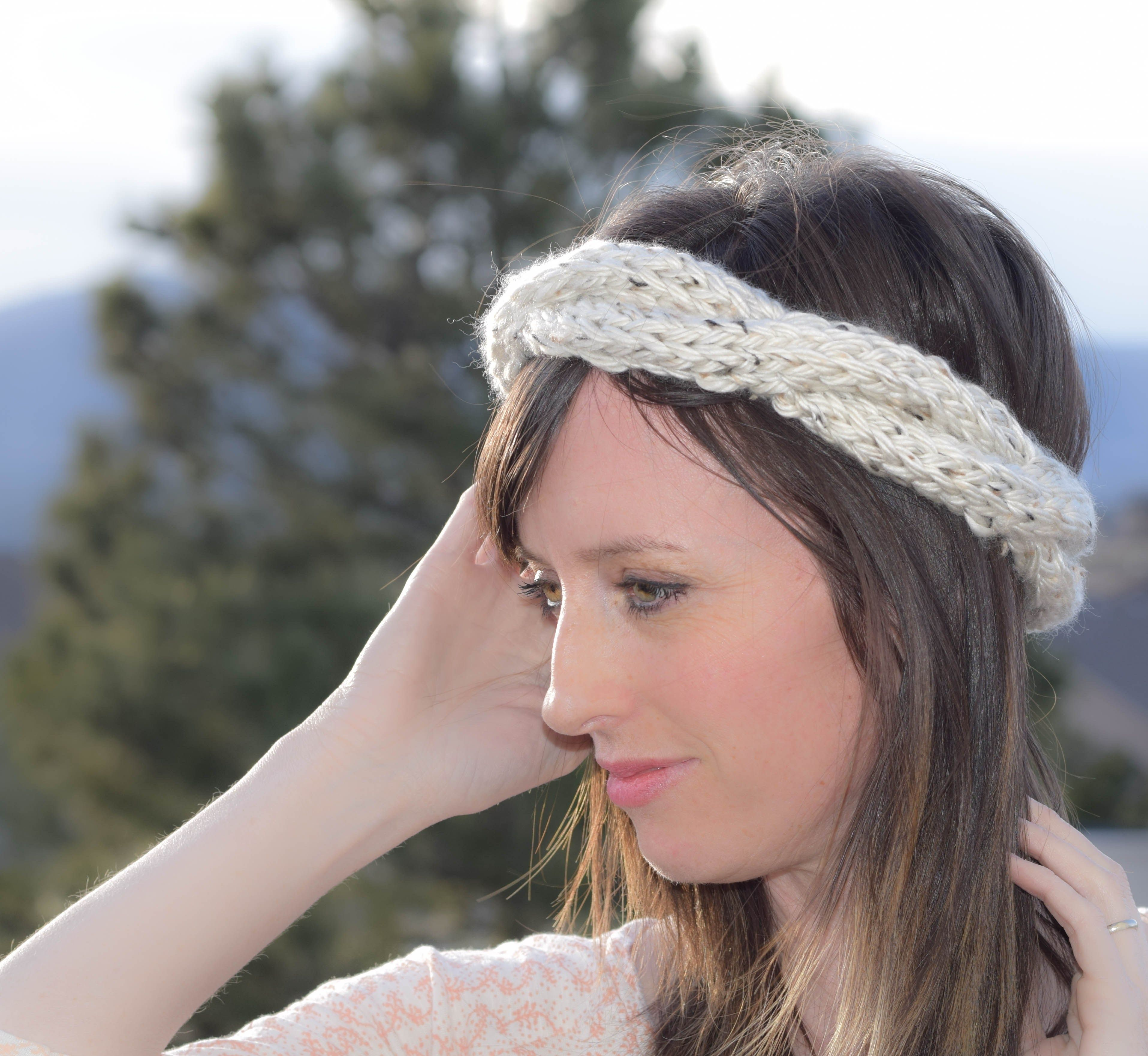Cabled Knit Chunky Easy Headband Pattern | Knitting | Pinterest ...