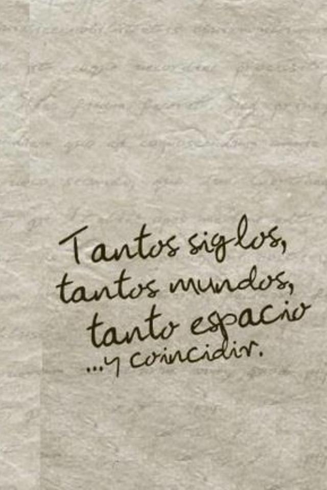Casualidad Frases De Amor Frases Bonitas Y Frases Románticas