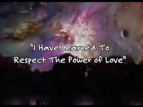 I Have Learned To Respect The Power Of Love Stephanie Mills