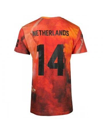 Eleven paris - Coup 4 w brazil (back) #T-shirt #WC @W K #Oranje #Brasil #Nederland #Soccer #Football
