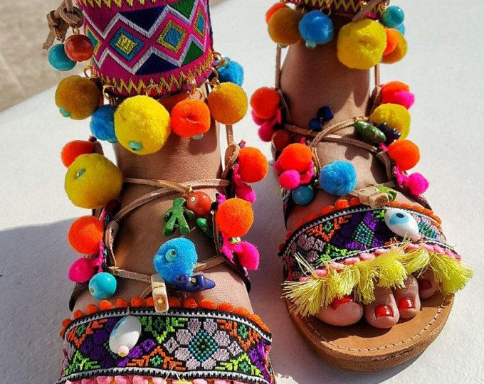 Handmade Leather Sandals made to order Afrika