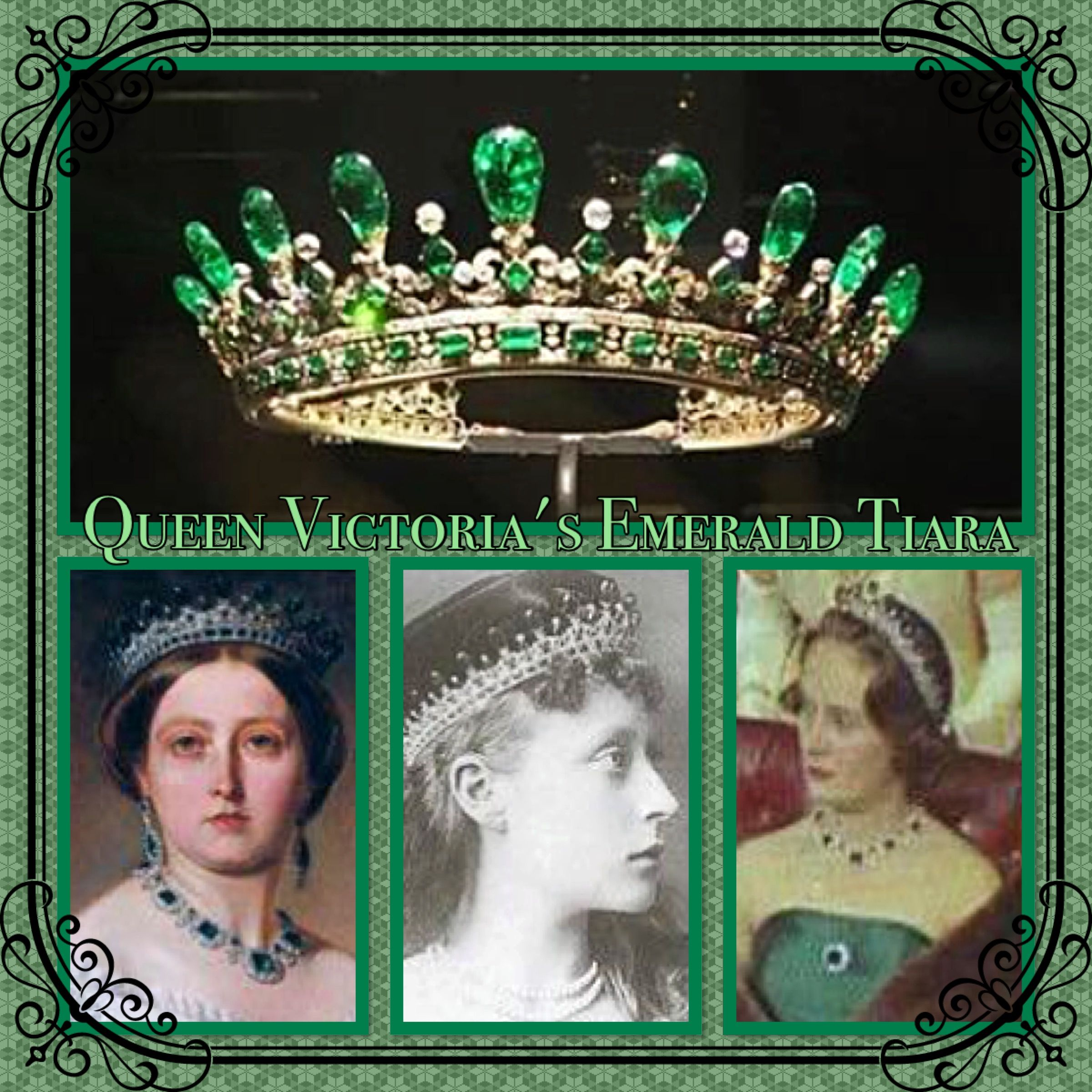 Emerald Victoria Bib