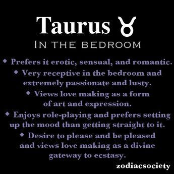 Taurus man in bed with pisces woman