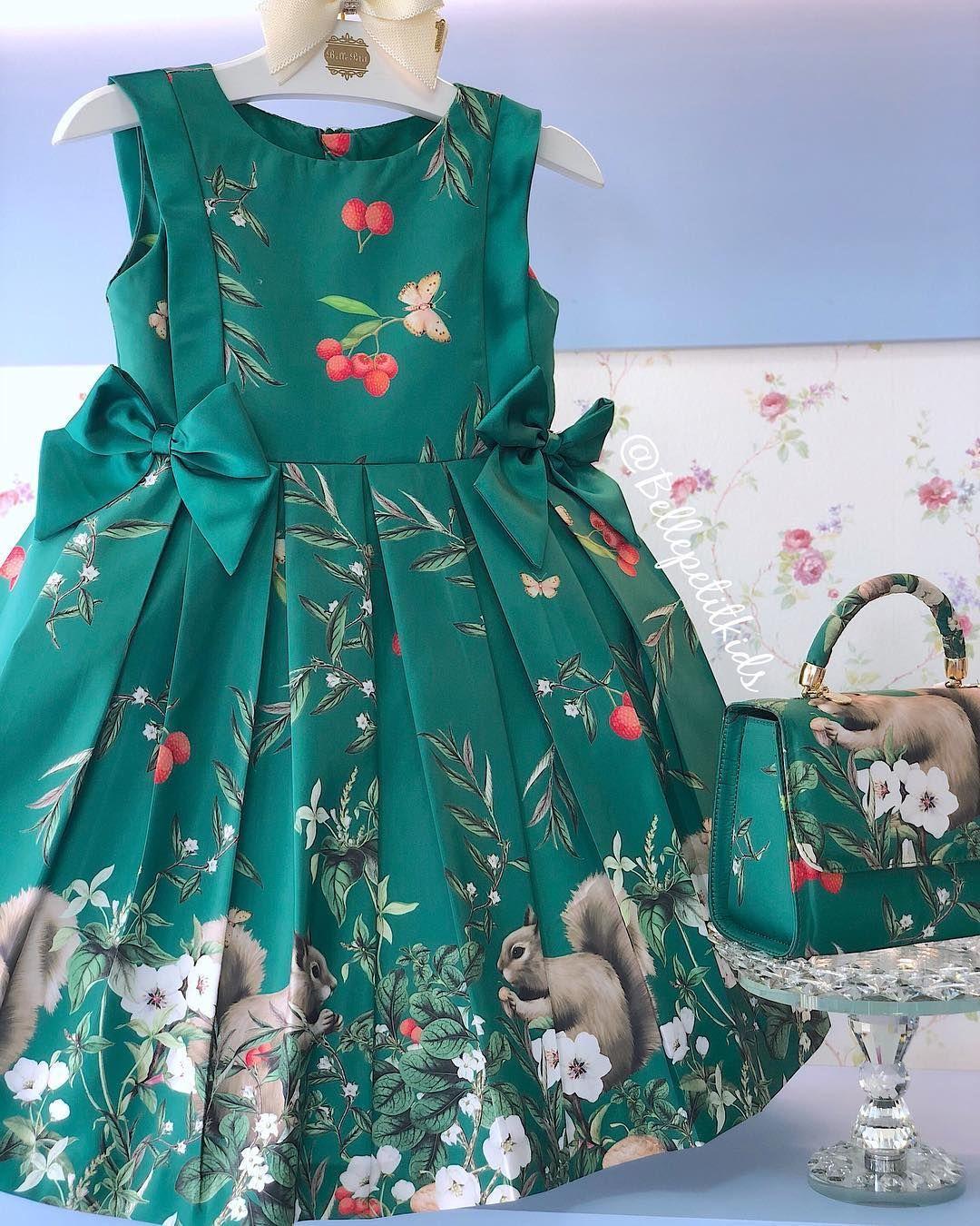 6b84b95a7 Um sonho de vestido! 💚 Lindeza demaaaaaaais define esse vestido ...