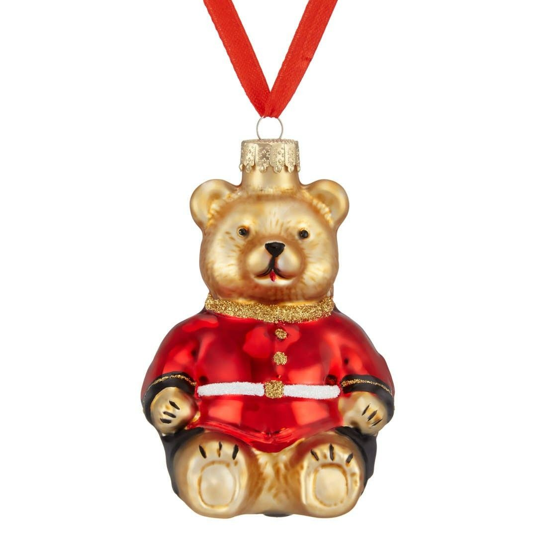 The Range Christmas Tree Lights: John Lewis Glass Guardsman Bear (With Images)