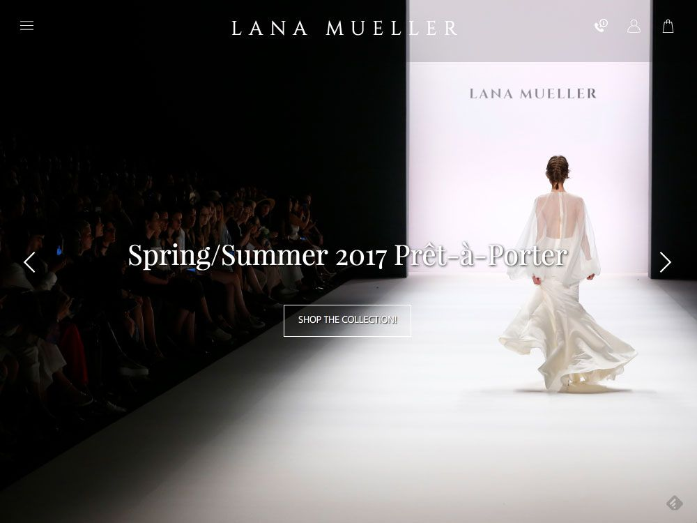 Website For Lana Mueller One Of The Most Popular Fashion Designer From Berlin Lana Fashion Design Fashion