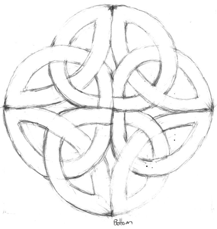 celtic knot | Crafts: Celtic | Pinterest | Celta, Bordado y Ideas