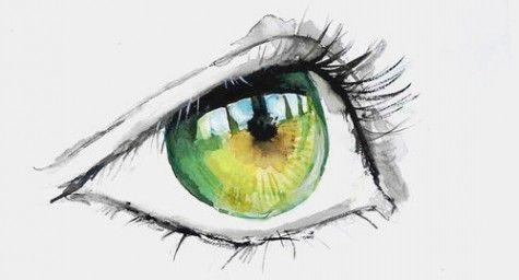 watercolor eyes illustration - Buscar con Google