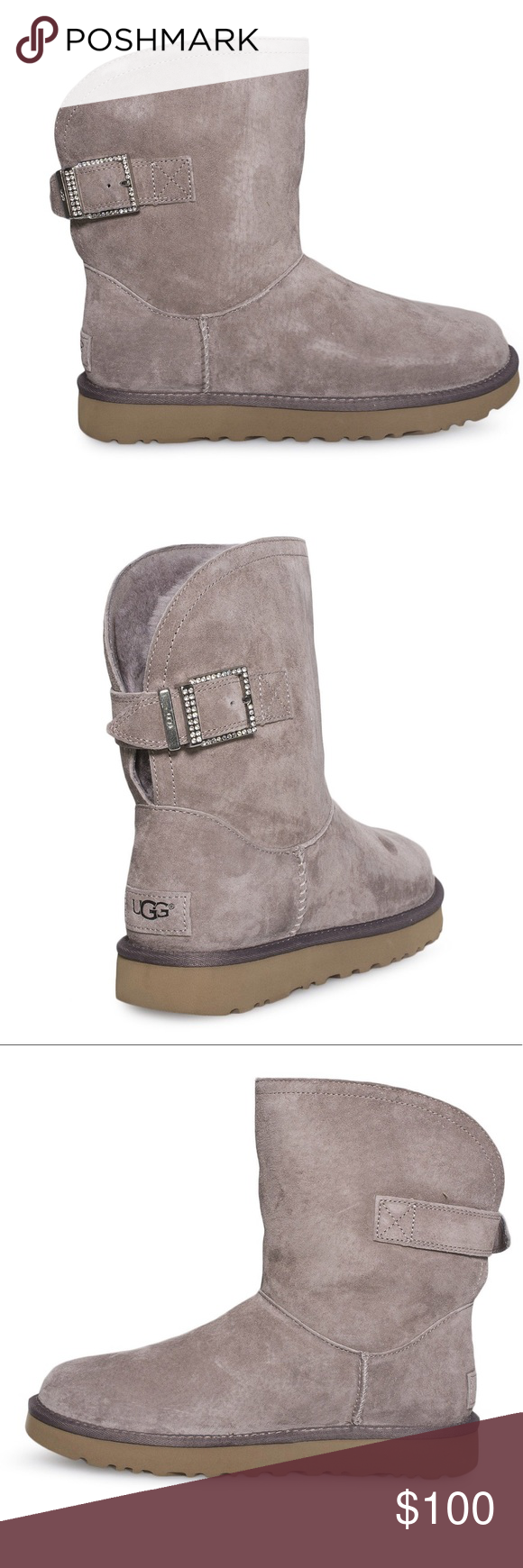 55be4c65292 Brand New Ugh Remora Buckle Boots Brand New Ugg Remora Buckle with ...