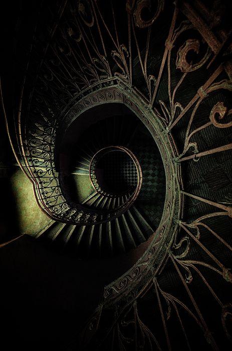 Best Old Metal Ornamented Staircase By Jaroslaw Blaminsky 400 x 300