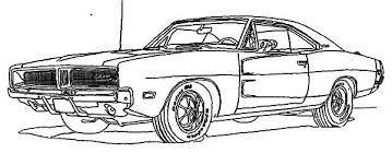 Image result for dodge charger coloring pages | auto ...