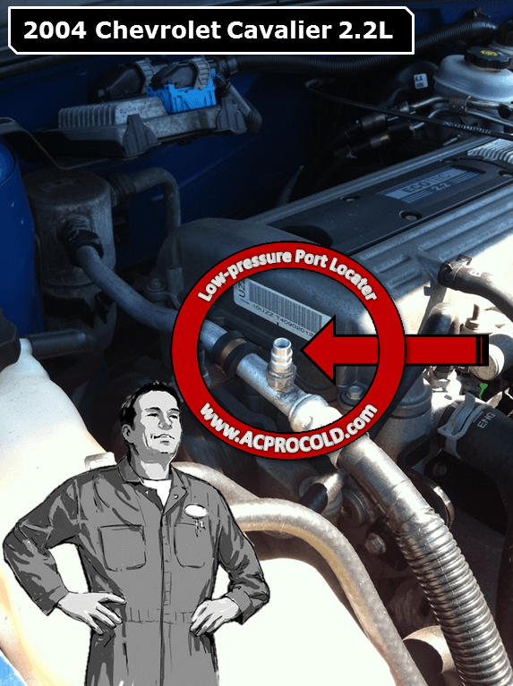 How To Add Freon To 2004 Chevrolet Suburban 2500