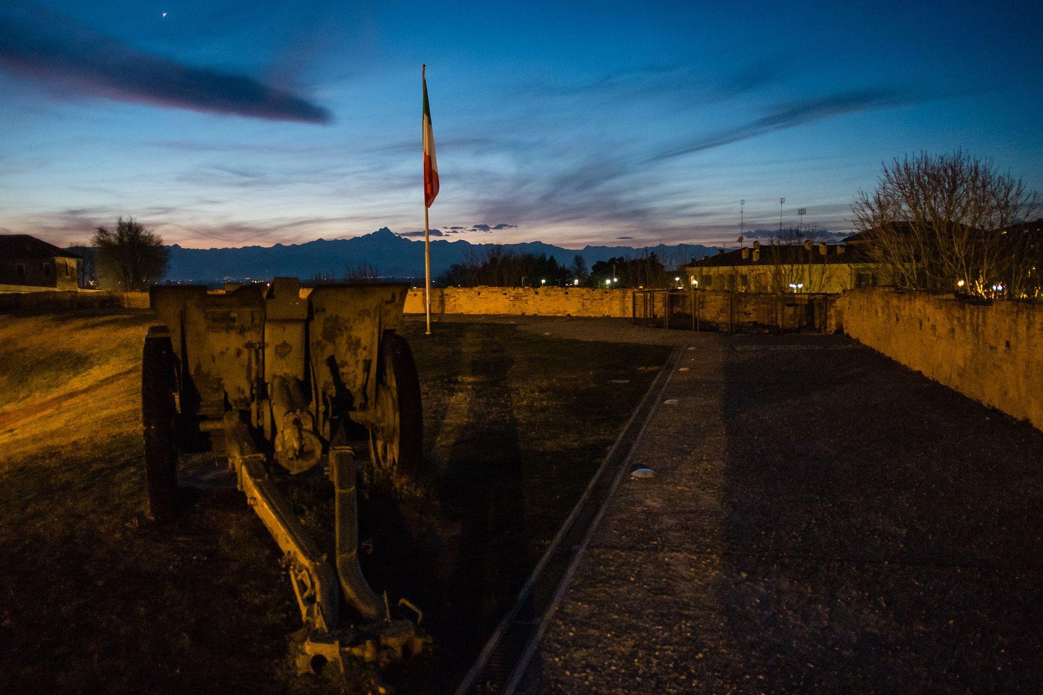 Il riposo del guerriero - Il Bastione dell Porta del Salice al Tramonto