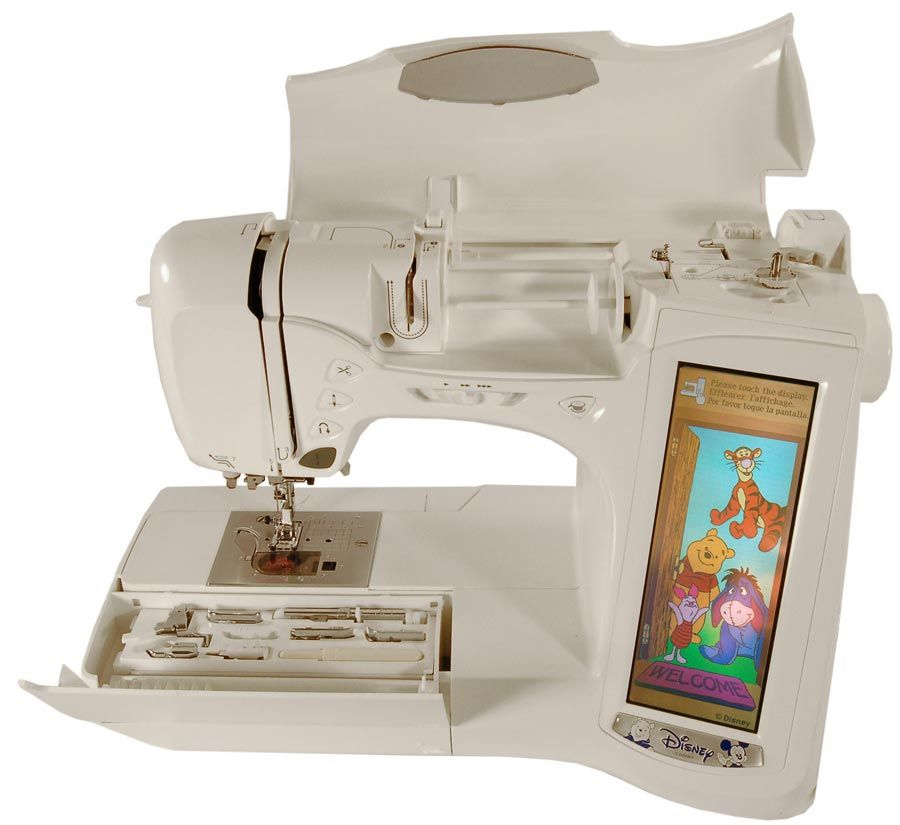 Brother Ult2003d Disney Sewing Embroidery Machine Machine Embroidery Sewing Embroidery Works