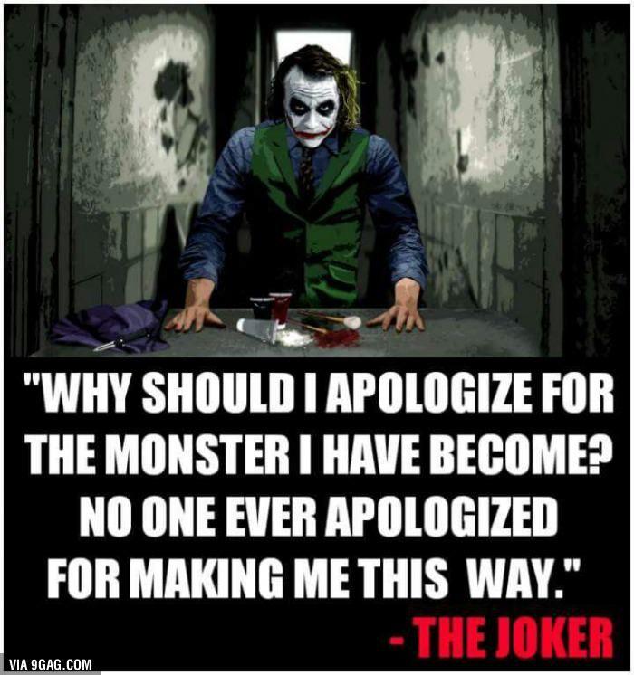 Joker Joker Quotes Best Joker Quotes Badass Quotes