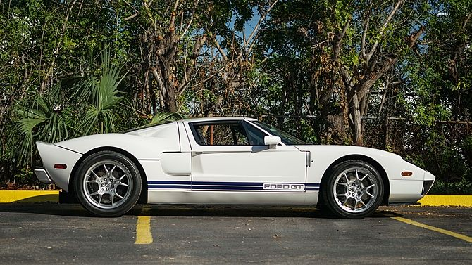 2005 Ford Gt 100 Miles Since New Mecum Auctions Ford Gt Ford