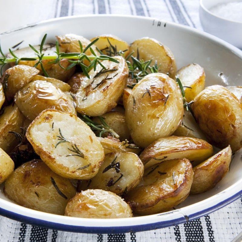 Roasted Baby Potatoes With Rosemary Kitchme Roasted Baby Potatoes Perfect Roast Potatoes Roasted Potato Recipes