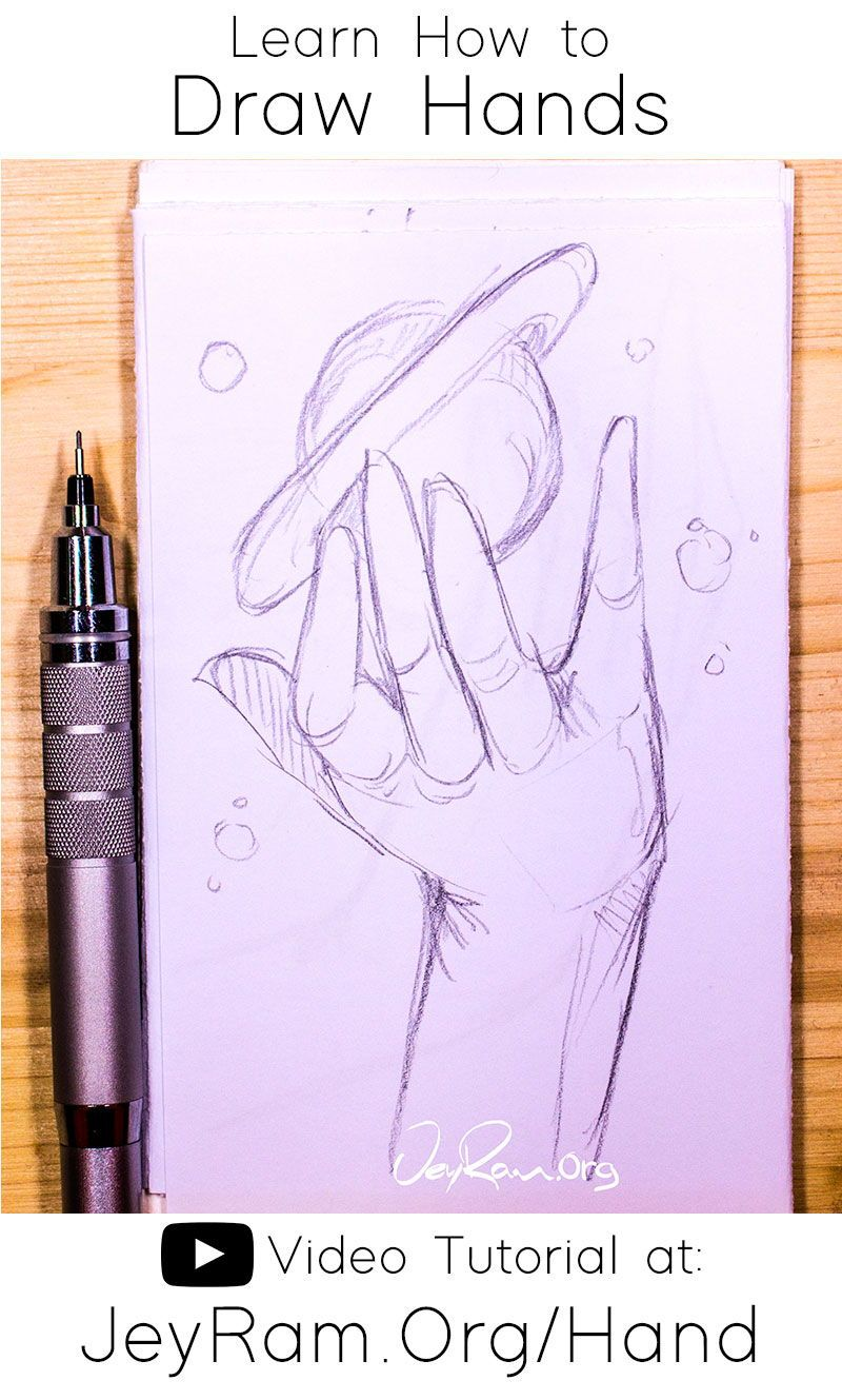How To Draw Hands Video Tutorial Free Worksheet In 2020 Hand Art Drawing How To Draw Hands Drawing Tutorial Hands