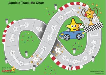 Track Me Reward Chart From Kiddychart  Vipkid    Chart