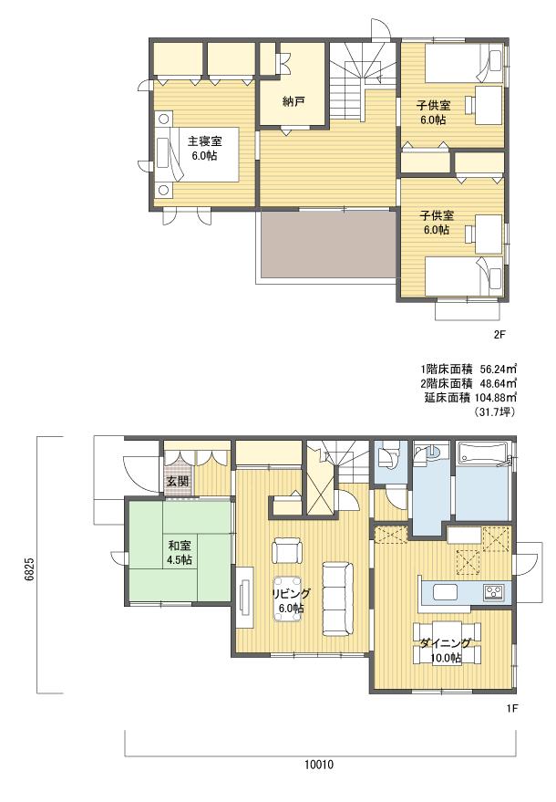 間取り 2階建 30 40坪 西玄関 間取り 玄関 間取り 玄関 方角
