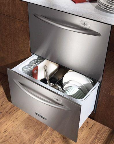 Google Image Result For Http://www.appliancist.com/drawer Dishwashers  Kitchenaid Drawer Dishwasher