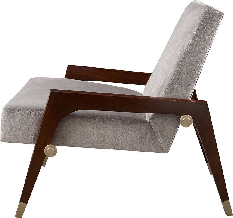 Baker Sling Lounge Chair Thomas Pheasant Collection