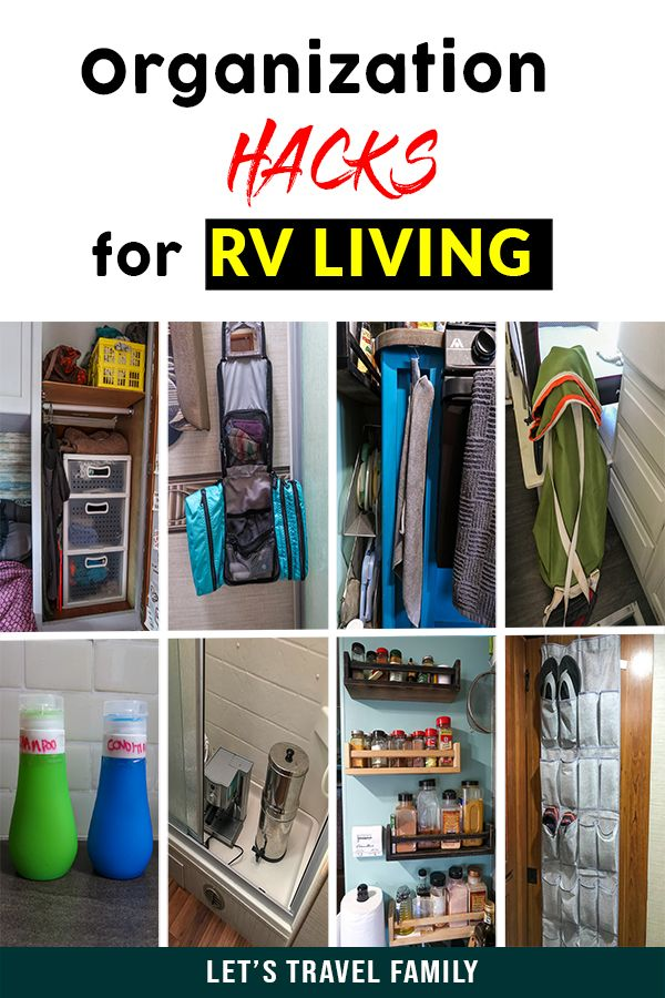 Photo of 45 RV Living Hacks For Organization