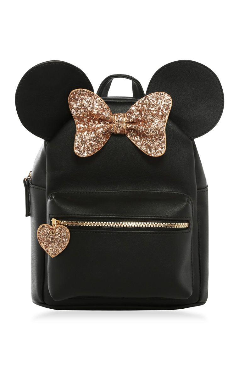 181547e68b36 Primark - Minnie Mouse Glitter Backpack
